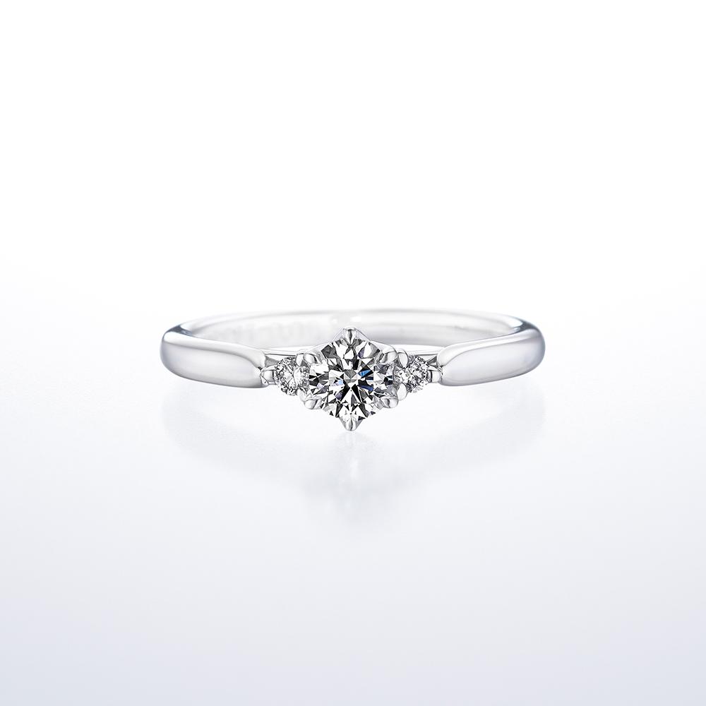 鑽石戒台樣式 - 直線款