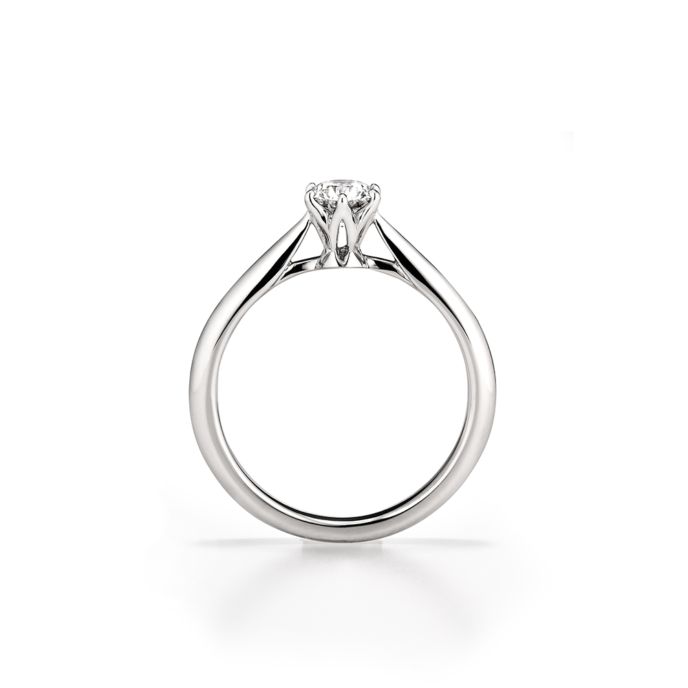 鑽石戒台樣式 - 高戒台