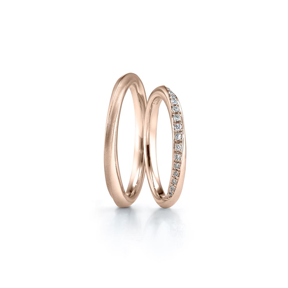 婚戒價格預算,3萬元以下 - Bouquet383_玫瑰金