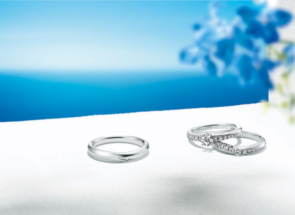 最近越來越多的夫婦選擇了非同款的結婚對戒。