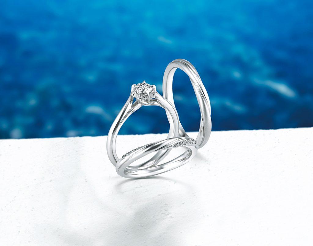 固定鑽石的主要方式有「有爪鑲」和「無爪鑲」兩種,可視需求及喜好挑選。