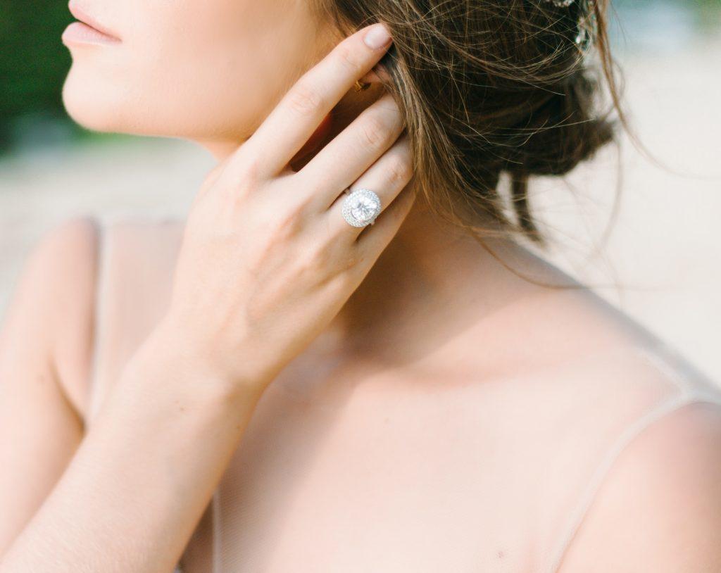 並沒有明文規定必須將求婚鑽戒佩戴在左手無名指上,您可以依照喜好將其佩戴在最合適的手指上即可。
