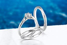 重視對商品的心意的婚禮珠寶