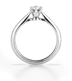 """設計簡約到極致的訂婚戒指""""聖·耀眼(Saint.glare)"""""""
