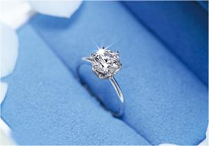 求婚專用戒指「微笑求婚戒指」