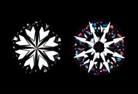 鑽石的心&指向標誌