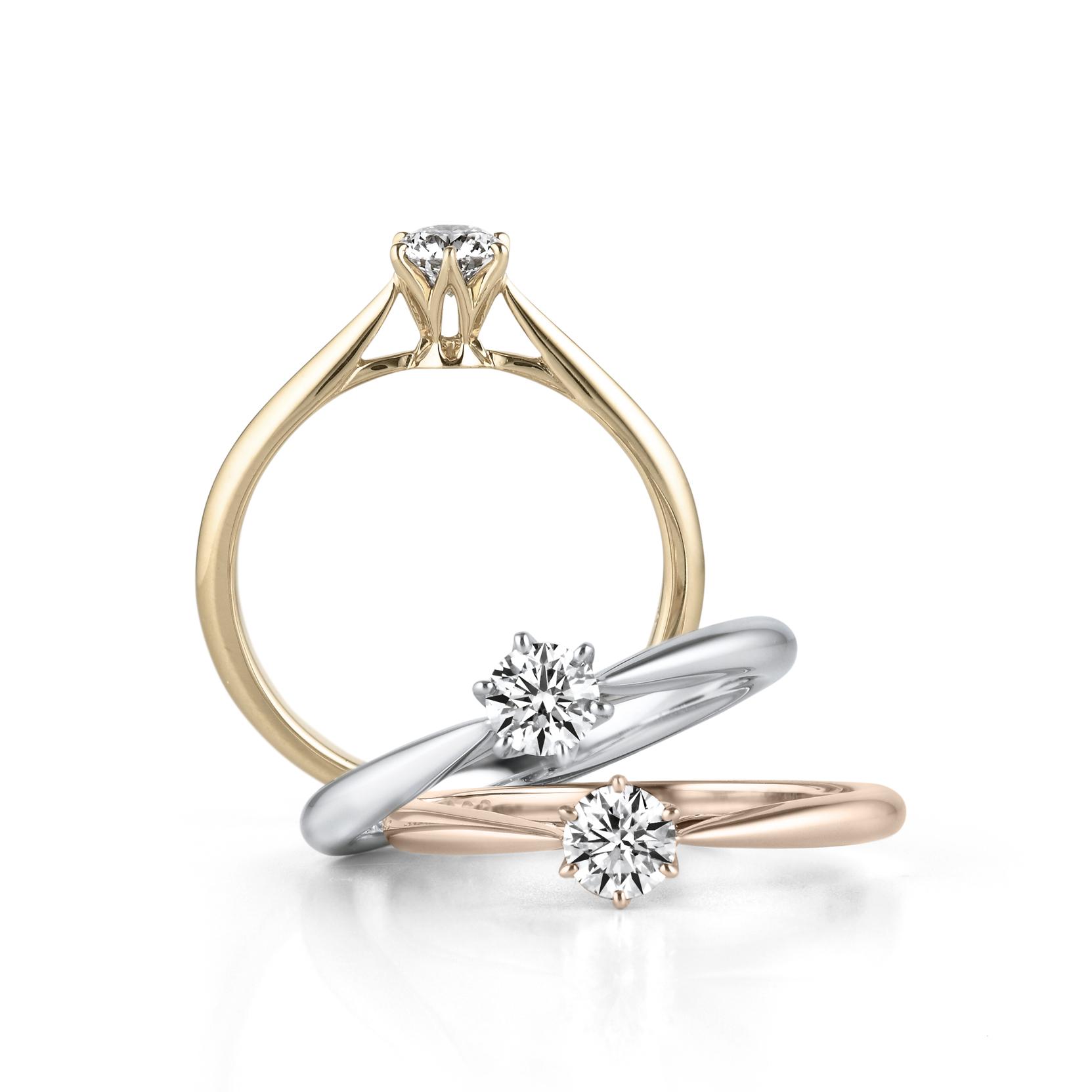 Saint glare,最美麗地展示鑽石的「極致的簡約」