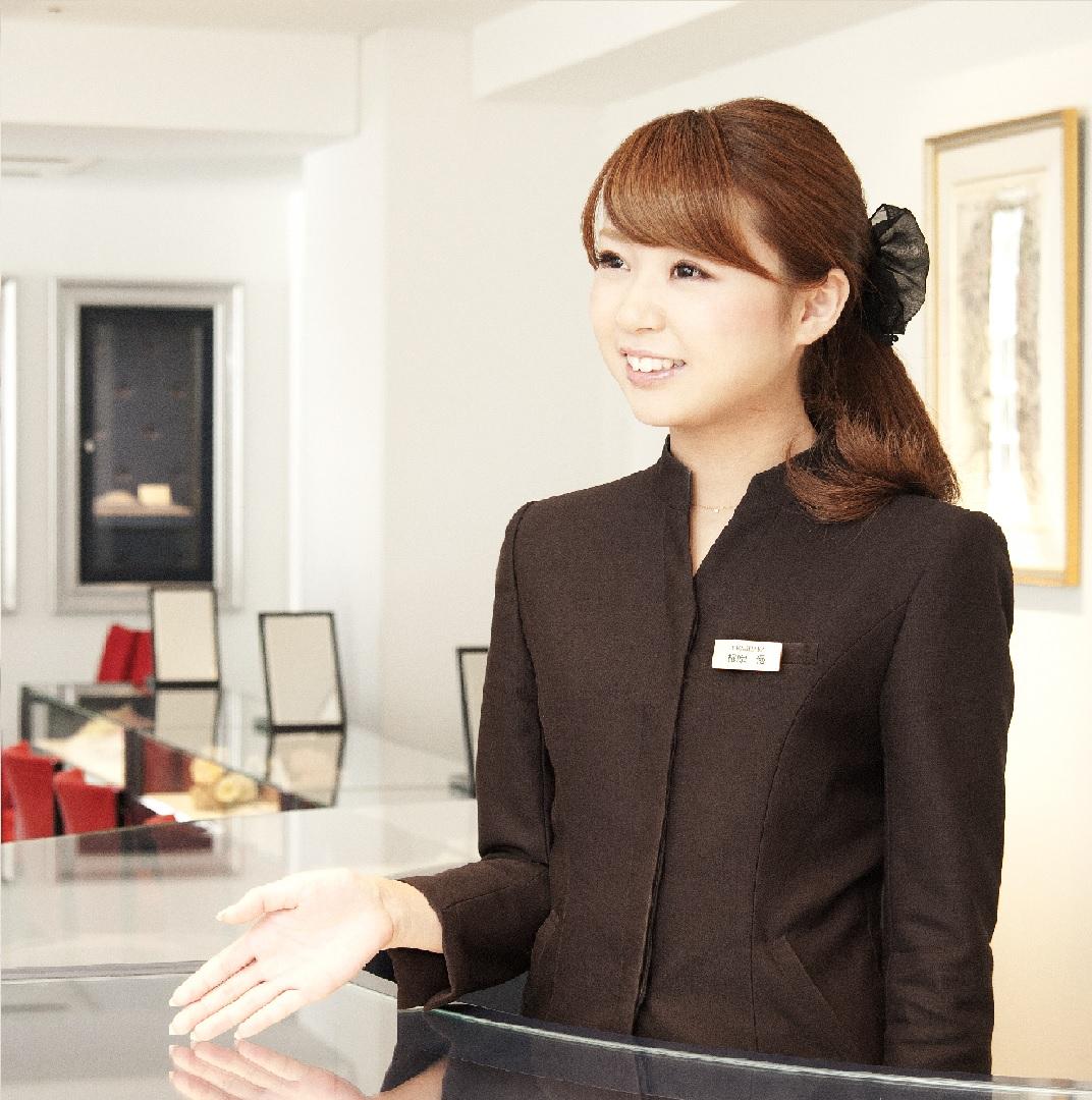 遇見客人的最幸福的瞬間對諮詢師來說也是最幸福的。