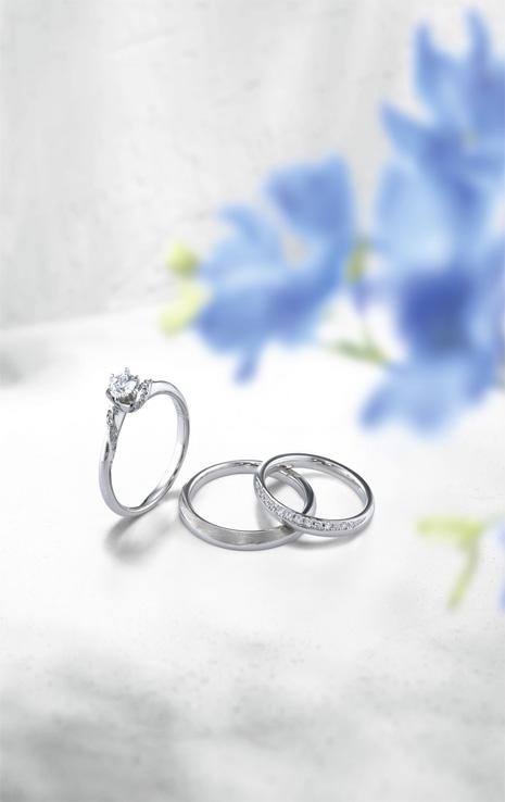 在這個世界上一枚戒指的光輝是包含著兩人的回憶,不管什麼時候都想一直守護這份光輝。