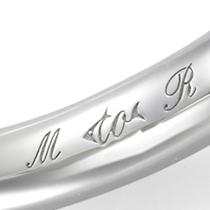 銀座ダイヤモンドシライシのレーザー刻印